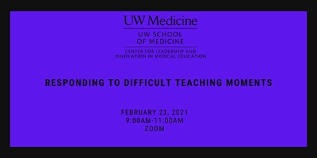 Responding to Difficult Teaching Moments tickets
