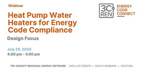 Heat Pump Water Heaters for Energy Code Compliance - Design Focus tickets