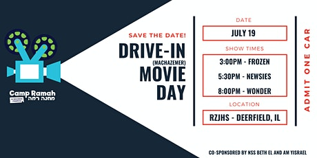Drive-in Movie Day tickets