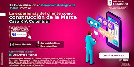La experiencia del cliente como construcción de la Marca. Caso KIA Colombia entradas
