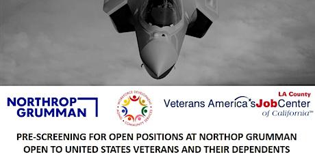 Northrop Grumman Pre-Screening For U.S. Veterans tickets