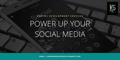 Power Up Your Social Media - Facebook tickets