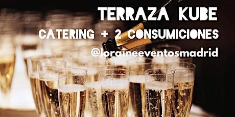 Cena Picoteo en Terraza Kube, Singles y Amig@s entradas