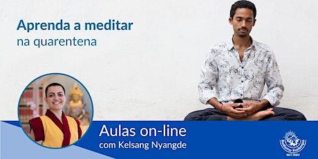 Aprenda a Meditar na Quarentena ingressos
