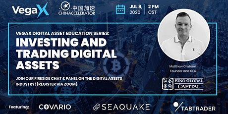 VegaX Digital Asset Education Series: Investing and Trading Digital Assets tickets