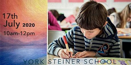 York Steiner School - Virtual Open Day tickets