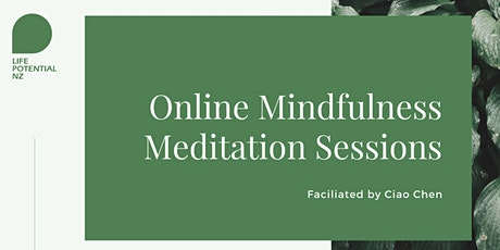 Online Mindfulness Meditation Sessions tickets