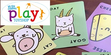 Games Club with Let The Children Play Toyshop! tickets
