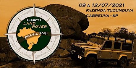 LRB 2021 - 12° Encontro Land Rover Brasil - São Paulo ingressos