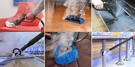 ZOOM Demonstration - Dry Steam Vapour Cleaning - 9 July 2020 tickets