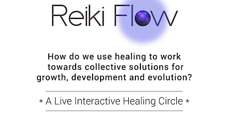 Working with healing for collective solutions for change. tickets