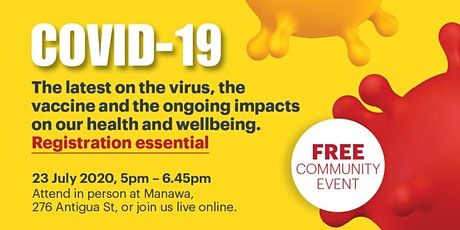 Te Papa Hauora COVID 19 - the virus, the vaccine, and the ongoing impacts. tickets