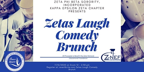 Zetas Laugh Comedy Brunch tickets