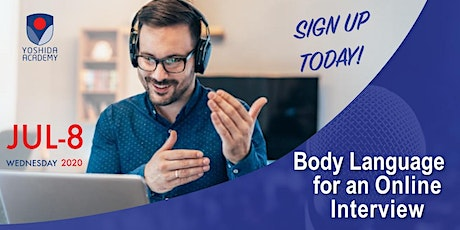 Body Language for an Online Interview tickets
