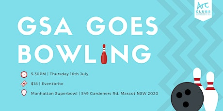 GSA goes bowling | T2 2020 tickets