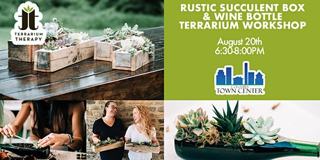 In Person Workshop - Rustic Box & Wine Bottle at Columbia Town Center tickets