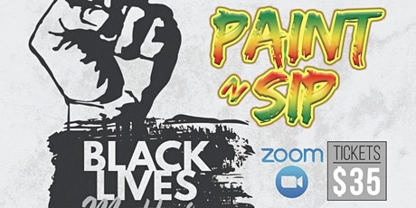Virtual Paint and Sip: Black Lives Matter tickets