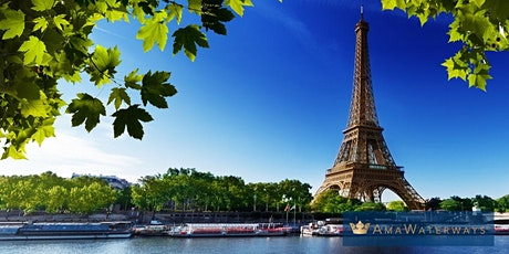 Virtual Travel  Talk with AmaWaterways - France and Taste of Bordeaux tickets