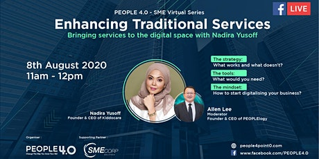 Enhancing Traditional Services - Bringing services to the digital space tickets