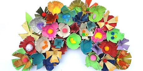 HOLIDAY Recycled Art for Kids: Rainbows tickets
