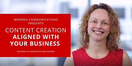 Strategic Content Aligned With Your Business - LIVE 1HR MASTERCLASS tickets
