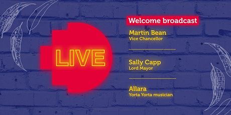 RMIT Welcome Live Broadcast tickets