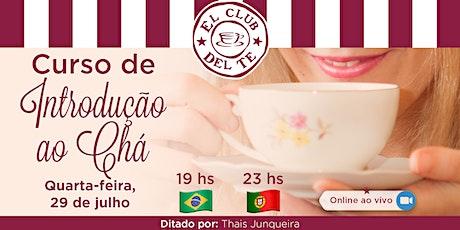 Curso de Introdução ao Chá Online ao Vivo ingressos