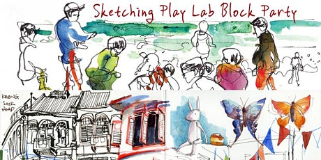 Sketching Play Lab - BLOCK PARTY (How to cook a sketch?) tickets