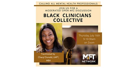 Black Clinicians Collective tickets