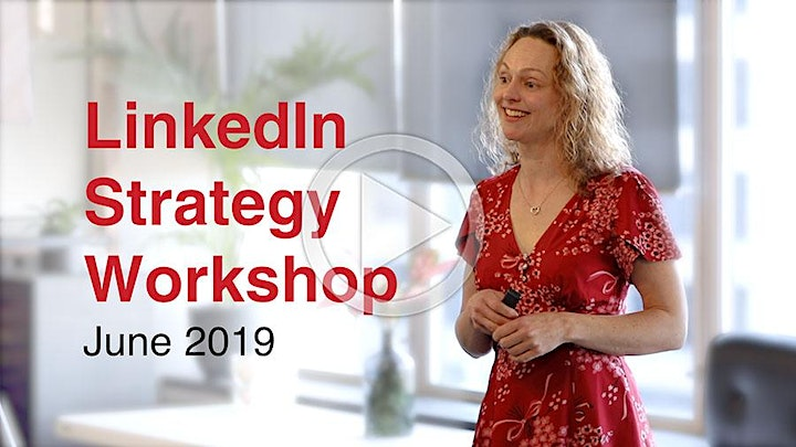 LinkedIn Content Strategy - Live Online Masterclass image