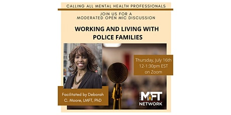Working and Living with Police Families tickets