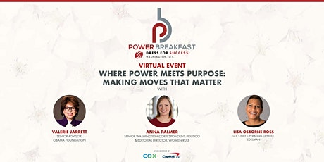Dress for Success Washington DC Where Power Meets Purpose: Making Moves That Matter tickets