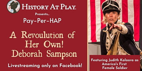 """Pay-Per-HAP """"A Revolution of Her Own!"""" Watch Party tickets"""