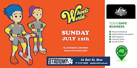 Wheelz World GA Tickets tickets