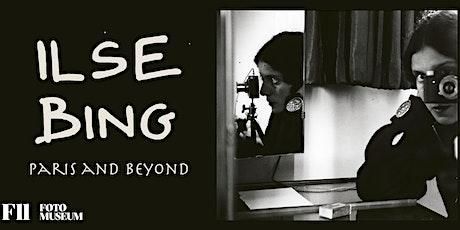 香港賽馬會社區拓展藝術教育計劃—免費展覽導賞《Ilse  Bing – 超越巴黎 》 tickets