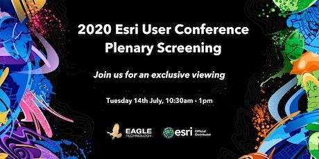Esri UC  Plenary - Christchurch Watch Party tickets