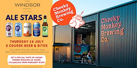 Cheeky Monkey Brewing Co. | Windsor Hotel ALE STARS tickets