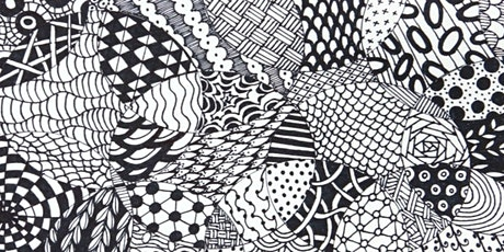 School Holidays - How to Zentangle tickets
