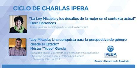 """Charla """"¿Por qué discutir temas de igualdad de género en pandemia""""? entradas"""