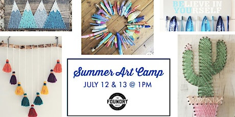 The Foundry - Summer Art Camp tickets