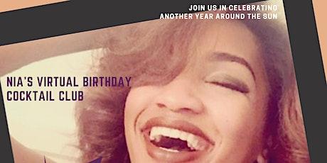 Nia's Virtual Birthday Turn Up tickets