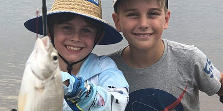 Families and Kids School Holiday Fishing Lesson Shorncliffe tickets