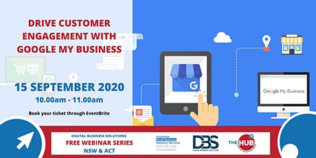 Drive Customer Engagement with Google My Business - Webinar tickets