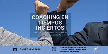 Coaching en Tiempos Inciertos entradas