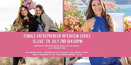 Female Entrepreneurship Interview Series, ft. Andes Florist tickets