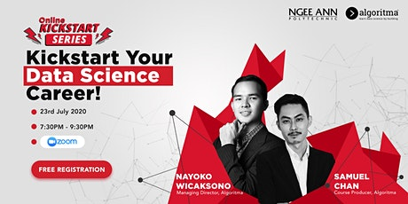 Kick Start Your Data Science Career tickets