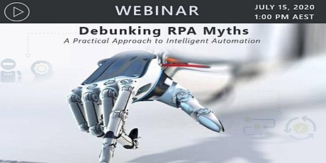 Debunking RPA Myths – A Practical Approach to Intelligent Automation bilhetes