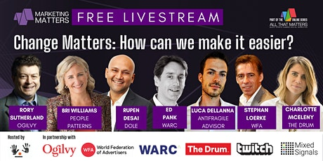 Change Matters: How can we make it easier? tickets