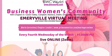 BWC Emeryville Virtual Meeting tickets