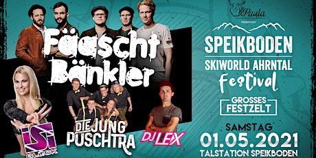 Speikboden Festival 2020 /w Fäaschtbänkler, Isi Glück uvm. Tickets